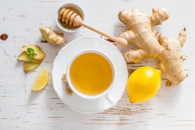 thé citron gingembre et miel