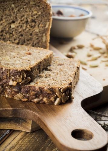 Le pain complet est riche en fibres et fait mincir